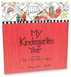 The perfect memory book for your kid! With pages to record the school year and places for photos, your child will love filling it up and looking back on it later!