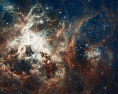 Hubble picture of 30 Dor