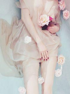 soft blush florals