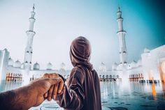 #followmeto Sheikh Zayed Grand Mosque with Jadoo @ekpyalichai  Idea credits to @followmeto #portraitsbySudansh #naturallight #canonme #sheikhzayedmosque #sheikhzayed #abudhabi