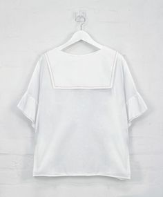 Image of French Knot 'Backwards' Sailor Top