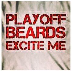 Playoff beards