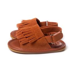 Amazon.com: DGXINJUN Unisex Baby Infant Boys Girls Prewalker Tassels Soft Sole Anti-Slip Summer Toddler Sandals: Shoes
