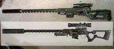 Nerf Fallout Sniper Rifle WIP3 by Hypercats.deviantart.com on @deviantART