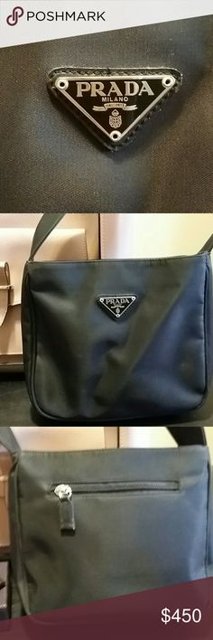 🎆 4th of July sale! Prada hand bag Original Small nylon Prada sholderbag Prada Bags Shoulder Bags