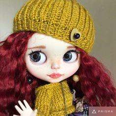 Doll ReservedOOAK Custom blythe doll by DaryaJavnerikDolls on Etsy