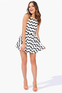 Wavy Days Dress  Get 10% off http://www.studentrate.com/miami/get-miami-student-deals/Necessary-Clothing-Student-Discount--/0