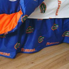 Florida Gators Team Spirit Bed Skirt