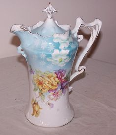 RS Prussia Chocolate Pot