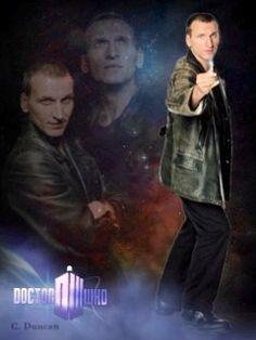 - 9th Doctor photo edit created by Cheryl Duncan~the Blue Box Beach Bum