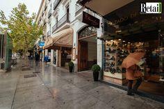 Local adquirido para el negocio de relojes. Localización: Calle Serrano. Retail Real Estate Services