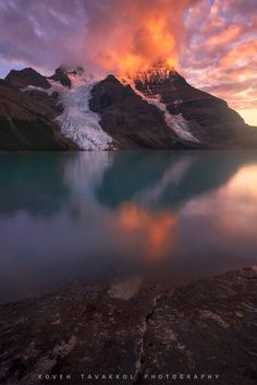 Still... - Berg Lake and Mt. Robson, in the beautiful Canadian Rockies. Photography by Koveh Tavakkol