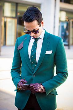 Teal isn't just for the ladies. Check out this dapper gentleman in teal. #Belabumbum #ToptoBottom #wearteal