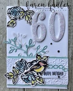Petal Palette stamp set in the Occasions Catalogue .. love this set flowers and birds!!  Www.stampingbees.co.nz