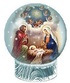 globo animato con Natività