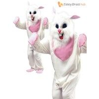 Adult White Easter Bunny Costume - Fancy Dress - Stag Party Stag Fancy Dress, Easter Bunny Costume, Costumes, Party, Fictional Characters, Dress Ideas, Whimsical Dress, Dress Up Clothes, Fancy Dress