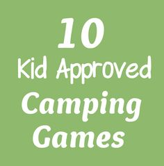 Life With 4 Boys: 10 Camping Games for Outdoor Fun! {no camping here, but these. - Life With 4 Boys: 10 Camping Games for Outdoor Fun! {no camping here, but these are still fun to p - Camping Desserts, Table Camping, Camping 3, Scout Camping, Camping Parties, Camping Checklist, Family Camping, Camping Hacks, Camping Stuff