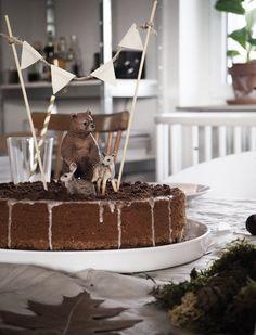 Ein bärenstarker Geburtstagskuchen   Waldtiere-Geburtstag   Kindergeburtstag