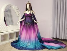 Fantasy becomes fashion with Firefly Path's uniquely designed and expertly crafted gowns and accessories. Pretty Outfits, Pretty Dresses, Beautiful Outfits, Fantasy Gowns, Lolita, Fairy Dress, Cosplay Dress, Medieval Dress, Gowns Of Elegance