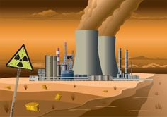 Government Report Exposes Lack of Preparedness for Nuclear Emergency Nuclear Energy, Nuclear Power, Free Vector Art, Vector Graphics, Too Close For Comfort, Save Our Earth, Water Pollution, Plant Art, Image Now