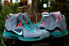 """Hate the term """"South Beach"""" for these, but they're the nicest Lebrons in awhile."""