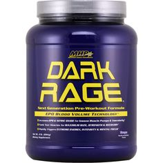 MHP DARK RAGE Grape 2 lbs | Regular Price: $64.99, Sale Price: $43.99 | OvernightSupplements.com | #onSale #supplements #specials #MHP #EnergyBooster  | The Next Generation Pre workout Formula with EPO Blood Building Technology Triggers Powerful Anabolic Hormone for Extreme Muscle Pumps Power and Performance Mind Blowing Pumps and Vascularity Increased Strength and Endurance Maximum Muscle Growth Extreme Energy Intensity and Mental Focus Faster Recovery DARK RAGE sets a new s