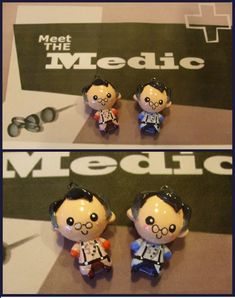 Chibi-Charms: TF2 Medic cute pendant!