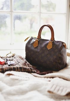 Louis Vuitton Speedy - still my favorite purse ever ... holds up like a champ and never goes out of style