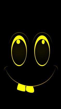 Qhd Wallpaper, Crazy Wallpaper, Cartoon Wallpaper Hd, Smile Wallpaper, Black Phone Wallpaper, Funny Phone Wallpaper, Graffiti Wallpaper, Apple Wallpaper Iphone, Neon Wallpaper