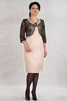 Resultado de imagem para платье костюм для полных женщин