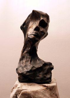 "Saatchi Online Artist: Valente Luigi Giorgio Cancogni; Bronze 2004 Sculpture ""L' Io Nascosto"""