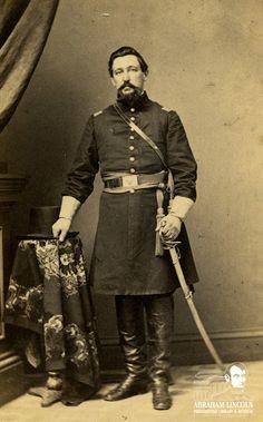 Col. Daniel Brown Bush, 2nd Illinois Cavalry Regiment #civilwar