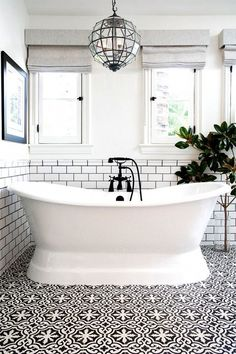 """""""A common mistake is using cool, decorative tile on their bathroom floors that aren't made for getting wet, which can make it really easy to slip on,"""" explained the designers at Studio Life.Style...."""