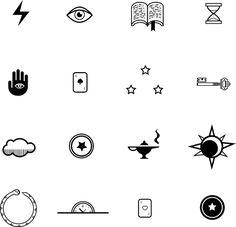 Curses Game icon designs