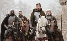 Intelligent, articulate interview from Tom Hiddleston on The Hollow Crown: Henry V. Can't wait to hear his St. Crispin's speech!