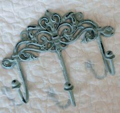 Jade Towel Rack  Decorative Wall Hook  Jewelry by juxtapositionsc, $14.00