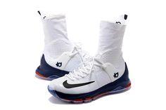 hot sales 2a6e8 8a9cf Nike KD 8 Elite Connecticut PE Men s Basketball Shoe 2016 Release