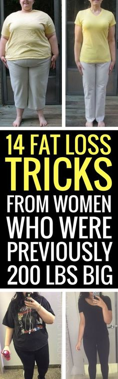 14 weight loss tricks from women who have lost at least 50 pounds. http://www.erodethefat.com/blog/lean-belly/