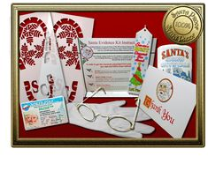 Proof Santa exists doesn't have to be hard! It can be easy and fun. Check out our kits.