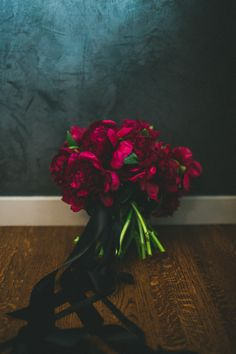 Incorporate some of these deep red peonies, or is this color too 'distinct?'