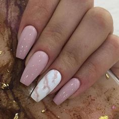 GORGEOUS MARBLE NAILS ART DESIGNS 2019 Seeing enough fresh flower patterns, and I don't want to repeat the elegance of French manicure. Today I recommend a unique and temperamental nail art – marble manicure. Summer Acrylic Nails, Best Acrylic Nails, Acrylic Nail Designs, Nail Art Designs, Nails Design, French Manicure Acrylic Nails, Simple Acrylic Nails, French Manicure Designs, Marble Nail Designs