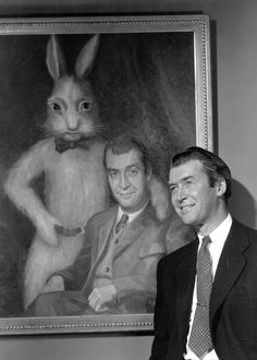 james stewart and harvey the pookaone of my favorite
