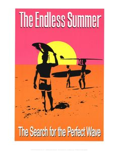 The Endless Summer by John Van Hamersveld. Print from Art.com