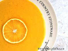 Dýňová polévka Stoneware, Orange, Fruit, Food, The Fruit, Meals, Yemek, Ceramic Pottery, Eten