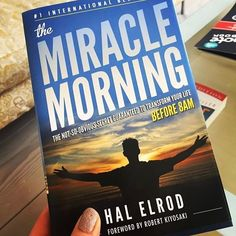 SuccessSunday's The Miracle Morning by Hal Elrod!  Read this ifyou're looking for one of my biggest life changing book recommendations to achieve anything you've ever wanted! This book will transform your life to help you wake up with more energy focus and motivation to take your life to the next level.  My 3 favorite book quotes:  1. The moment you accept total responsibility for everything in your life is the moment you claim the power to change anything in your life.  2. Your morning…