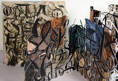 Merrill Shatzman  ||  Calligraffiti 3, Artist Book, 2011 (2064×1423)  ||  http://sites.duke.edu/mjs/artist-books/