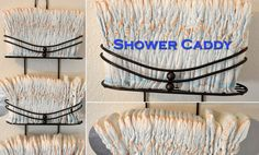 diaper storage ideas...use a shower caddy