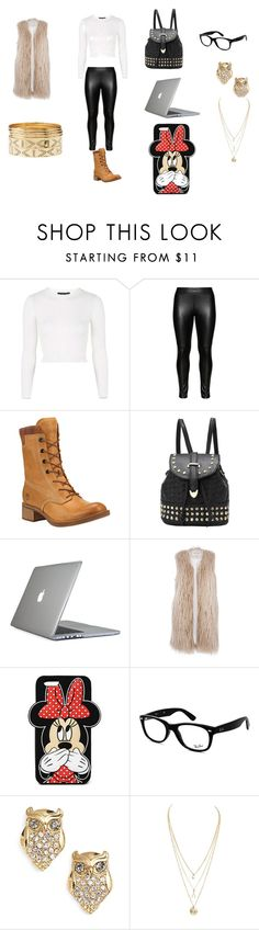 """cute"" by natashaasante on Polyvore featuring Topshop, Studio, Timberland, Speck, River Island, Forever 21, Ray-Ban, Kate Spade and Charlotte Russe"