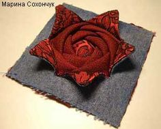 Folded and layered rose.  Site is in Russian but pictures are good.