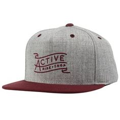 Active Banner Snapback > Hats & Snapbacks | Active Ride Shop